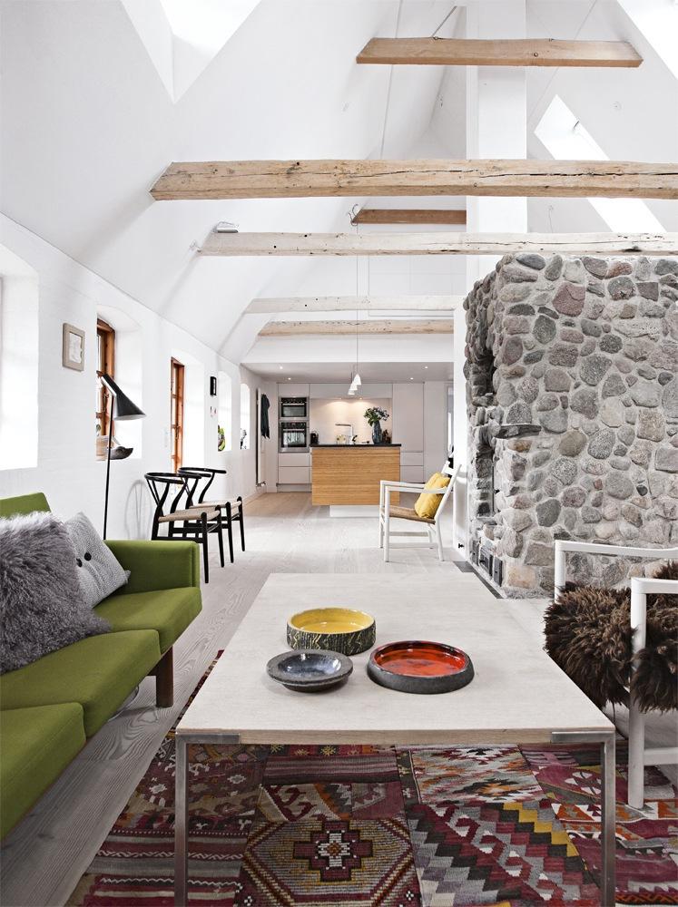 Str t kt idyl ombygget til moderne familieliv for Indoor design dk
