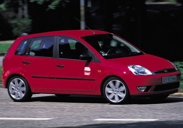 Biltest af Ford Fiesta 1,6 Trend