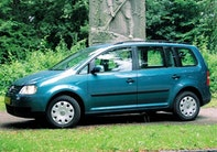 VW Touran 1,9 TDI Trendline Van