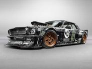 Se Ken Block fyre den af i sin nye 1965 Mustang 'Hoonicorn'