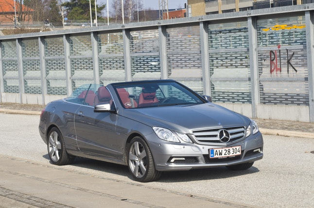 Mercedes E320 CDi Cabriolet