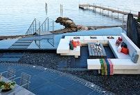 Terrasse de luxe