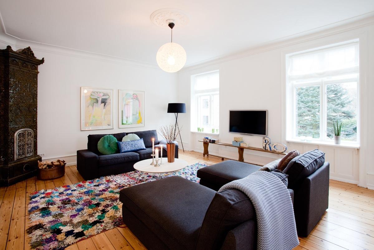 Indretning af lille stue – astric