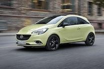 På vej til Danmark: Opel Corsa