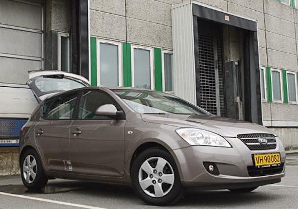 Biltest af Kia Ceed 1,6 CRDI Exclusive van
