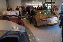 Nyt showroom til Aston Martin