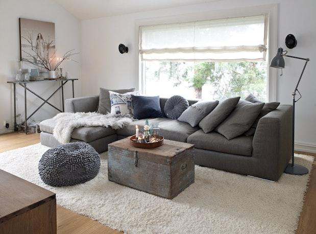 hyggelig sofakrok et hjem fullt av ideer. Black Bedroom Furniture Sets. Home Design Ideas