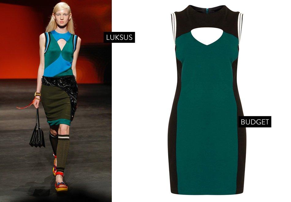 <p>Sporty bodycon kjole</p>