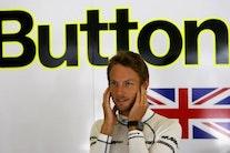 Button sejrer på spøgelsesbane