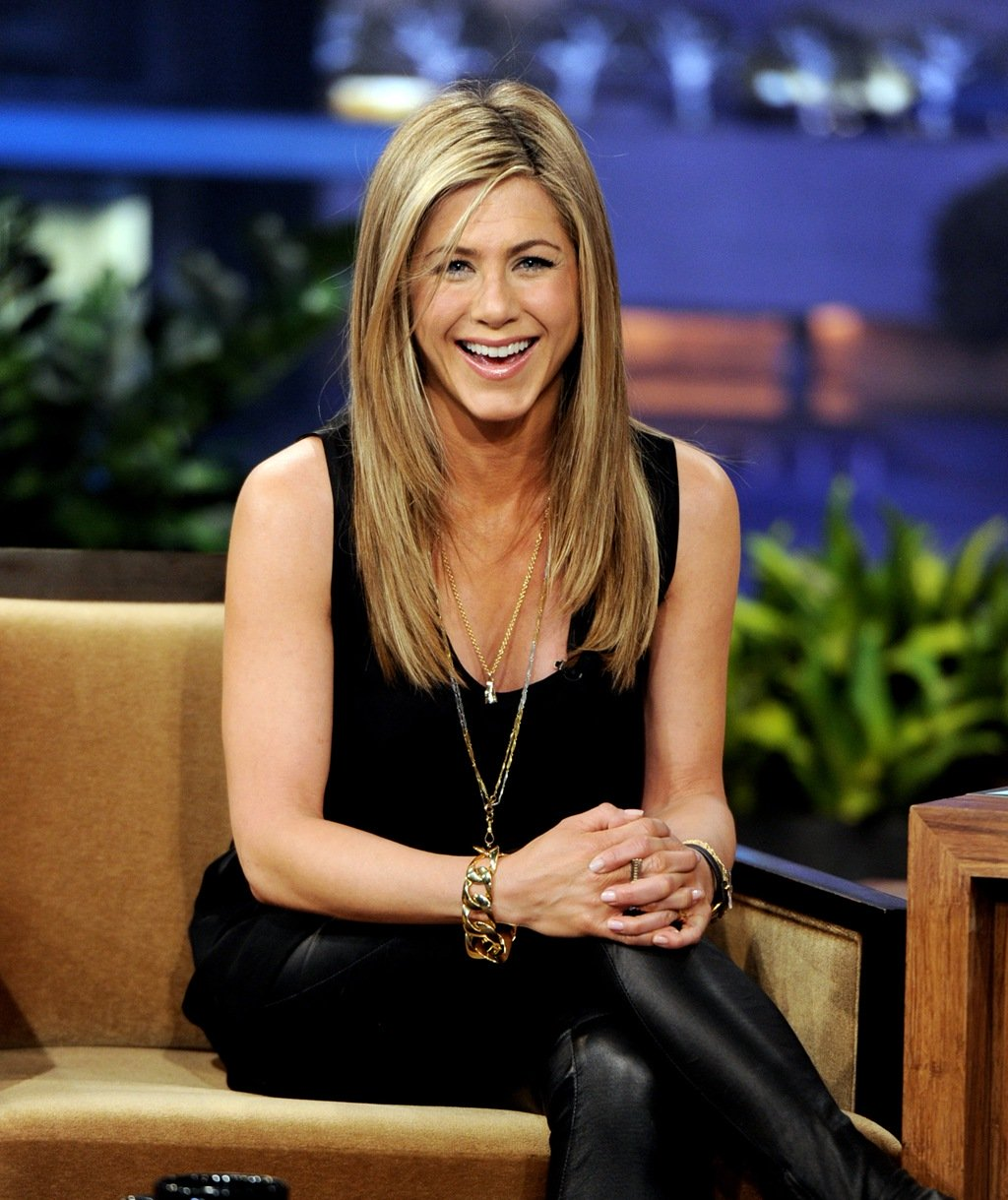<p><strong><br /></strong></p> <p><strong>Jennifer Aniston, (43).</strong></p>