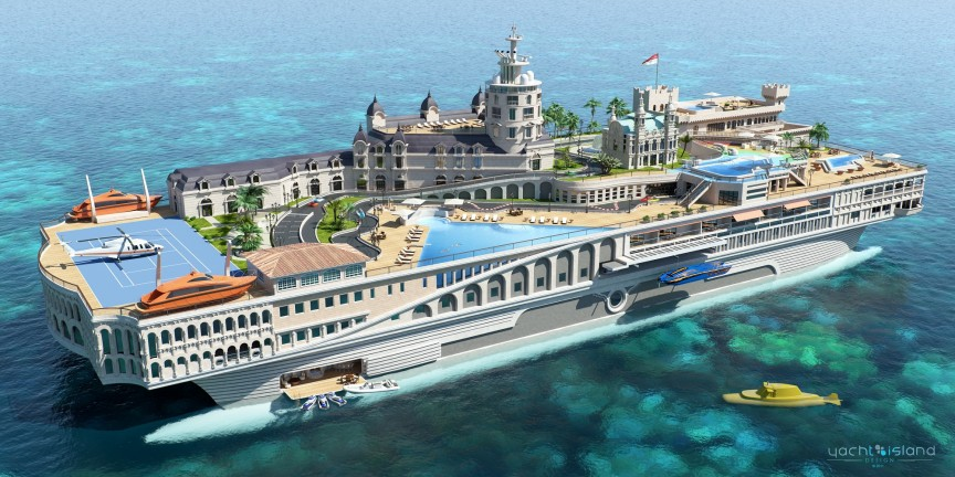 Verdens største yacht