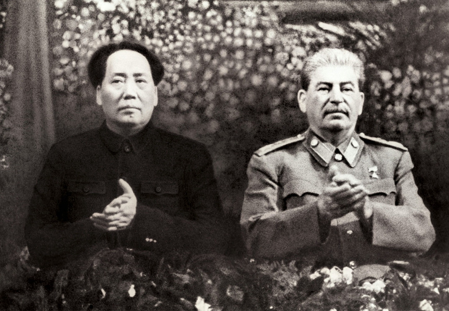 mao and stalin relationship with hitler