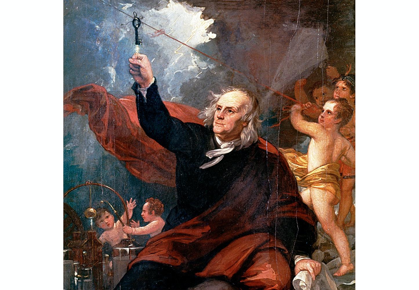 Hvad blev der af Benjamin Franklin? | Historienet.dk