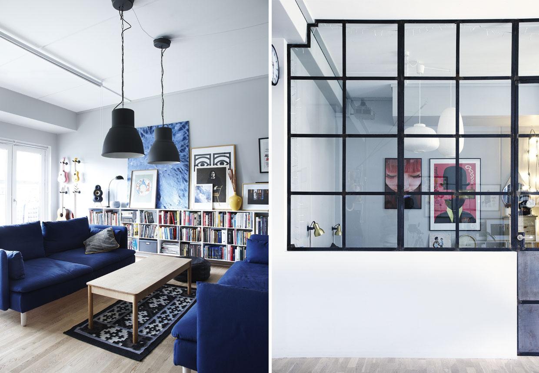 Storbylejlighed | Lejlighed med et pink newyorker-look | Boligmagasinet.dk